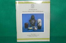 Catalogue ventes aux enchères CHRISTIE'S New York de 1979 céramique Argenterie
