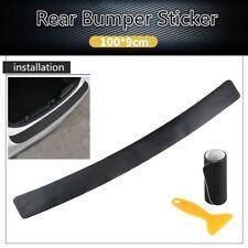 """39.4"""" Carbon Fiber Car Front Rear Bumper Protector Corner Guard Scratch Sticker"""