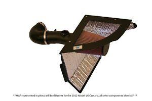 CAI 2012-2014 3.6L Chevrolet Camaro Cold Air Intake System (Black Finish)