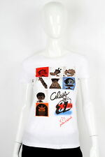 Paul Frank LARGE $29 White Julius Friends Class 1982 Yearbook Ladies T-Shirt NWT