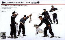 """AFV Club 1/35 AF35092 WWII German Tank Crew """"Hunting"""" (Late War, 1943~)"""