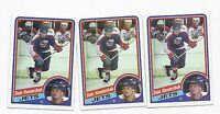 3 X 1984-85 TOPPS # 152 JETS DALE HAWERCHUK NRMT+  CARD
