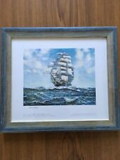Limited Edition Print By Arthur Royce Bradbury 'The Tea Clipper ARIEL' Framed