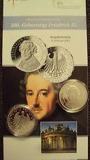 """* BRD, 10 Euro Silber Gedenkmünze 2012 """"Friedrich II."""" in PP Spiegelglanz *"""