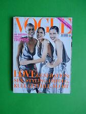 Vogue DEUTSCH September 1997 cover Germany Fashion magazine