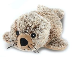 Microwavable Heat Packs Cozy Plush Soft Cuddly Toy Brown Seal