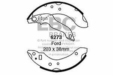 6273 EBC Rear Brake Shoes for FORD FORD  RELIANT