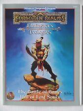 D&D Forgotten realms AD&D 2nd Edition Elminsters Ecologies Battle of Souls