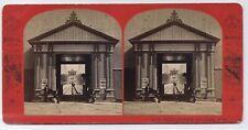 Niagara Falls New Suspension Bridge Gate House 1870s New York Engineering SV