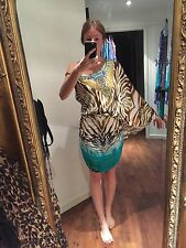 Camilla Size1 Savannah One Shouldered Drape Dress BNWT's