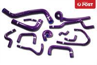 Silicone Radiator Hose Kit for Nissan Skyline ECR33 R33 GTS-25T RB25DET Purple