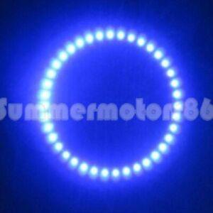 2X 10Watt Bright Blue 130mm 39leds 3528 SMD Led Angel Eyes Halo Ring Light B13