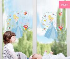 Disney Cinderella D3008 Little Princess Children Wall Art Stickers Kids Room Dec
