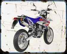 Ccm 404 Ds Supermoto 06 A4 Metal Sign Motorbike Vintage Aged