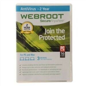 DOWNLOAD | Webroot SecureAnywhere AntiVirus 2021 | 2 YRS, 5 PC/MAC | KEY EMAILED