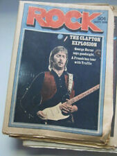 Rock 9/74 Eric Clapton  Traffic   Robert Crumb interview