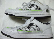 Converse Basketball Shoes Sneakers White Womens Rare Artsy Fun Low Sz 7.5 Excell