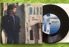 """RICHARD MARX -EXCELLENT COND. 1989  PICTURE COVER- RIGHT HERE WAITING  7"""" 45"""