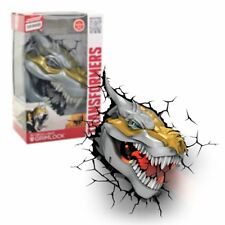Transformers GRIMLOCK 3D Deco Light Night Wall Light LED Bulb Official