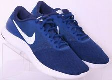 Nike 908983-400 Flex Contact Blue Lace-Up Fitness Running Shoes Men's US 8