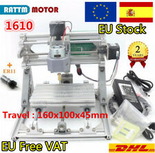 【ES】3 Axis 1610 DIY Mini CNC Router Engraving Milling Laser Machine &ER11 Collet