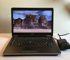 Windows 10 laptop core i5 8GB RAM 240GB SSD, New Battery, Dell Latitude E7440