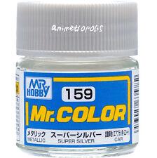 GSI Creos Gunze Mr Hobby Color Lacquer C159 Super Silver Metallic Car Paint 10ml