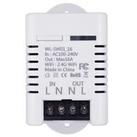 2.4G Wifi Smart Switch Relais 16A TéLécommande Sans Fil Tuya Smart Life App F3Z