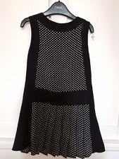 Next Girls Black and White Dress - 6 years