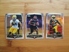 2014 Topps Chrome Green Bay Packers TEAM SET (19) Cards