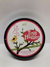 Perfectly Posh The Tree Hugger D Tox Body Scrub - Strawberry And Coconut - 9 Oz
