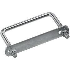 "30 Pk Steel Zinc Plated 3/8"" X 4"" Wide X 3"" Long Square U Bolt U Clamp N222380"