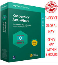 KASPERSKY Anti-Virus Security - 2020 / 3 Devices / 1 Year / Global-Key $13.32$
