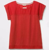 White Stuff - Droplet Jersey Tee - U.K. 8 - Desert Red - Brand New With Tags