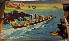 VINTAGE [1959] GERMAN Q-SHIP ATLANTIS 1/456  [INSTRUCTIONS ARE A COPY...BUT..]