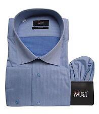 Slim-fit Herren Hemd Muga*237*Gr.3XL Blau