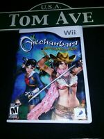 NINTENDO Wii Onechanbara Bikini Zombie Slayers COMPLETE with CASE and MANUAL