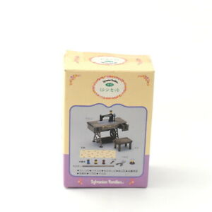 Sylvanian Families SEWING MACHINE SET 1987 Calico Critters Epoch Japan