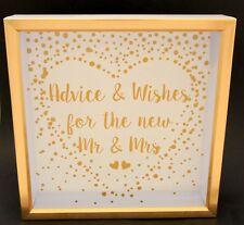 Wishing Well Gift Card Large Size Box Cardholder Engagement Gift