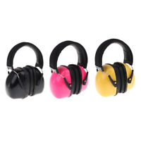 Active Noise Reduction Earmuffs Headset Ear Defenders Hearing Protect Durable