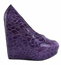 Very High (4.5 in. and Up) Leather Casual Heels for Women
