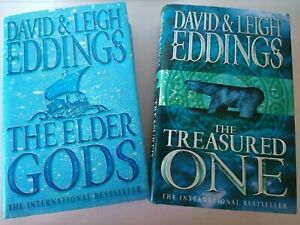 David and Leigh Eddings Books 1&2 of The Dreamers Hardbacks with covers Used