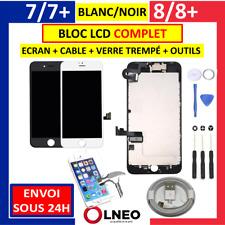 BLOC COMPLET ECRAN LCD + VITRE TACTILE NOIR BLANC IPHONE 7 / 7 PLUS / 8 / 8 PLUS