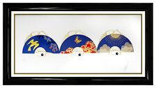 ERTE Daydream Embossed Color Serigraph Art Deco Fashion Costume Design Signed