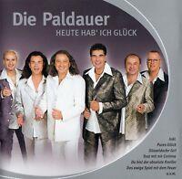 DIE PALDAUER : HEUTE HAB' ICH GLÜCK / CD - TOP-ZUSTAND