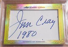 JIM CRAIG Auto 1/1 LEAF 2014 EXECUTIVE COLLECTION USA Hockey Card