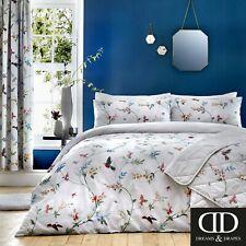 Dreams & Drapes Mansfield Reversible Single Bedding Duvet Set Floral Bird