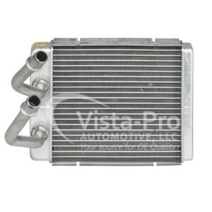 HVAC Heater Core-Base, Natural Front Vista Pro 399327