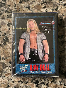 WWF Raw Deal out of print collectible card game, Chris Jericho