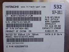250gb Hitachi hds721025cla682 | pn: 0f15010 | MLC: jpt41a | sep-2011 #532